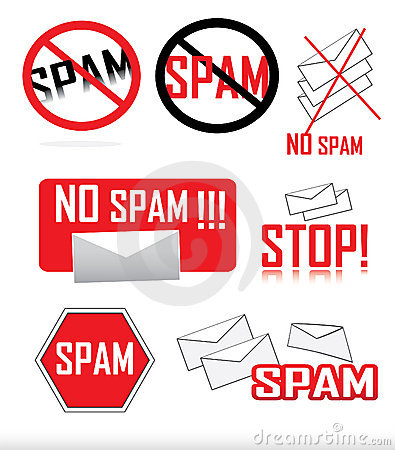 Anti-spam icons
