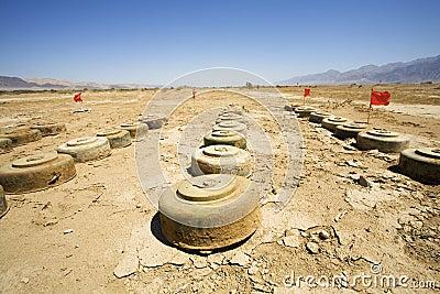 Anti tank mines