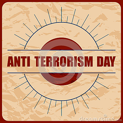 Free Anti Terrorism Day Royalty Free Stock Photos - 69134578
