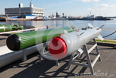 Anti-torpedo and guided bomb Editorial Stock Image