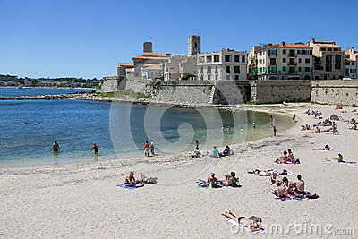 Antibes - French Riviera - South of France Editorial Image
