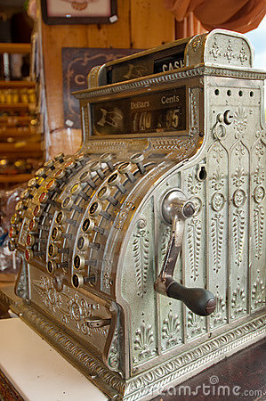 Antiek kasregister