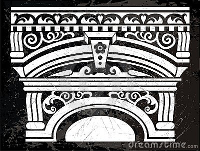 Antieke kolom