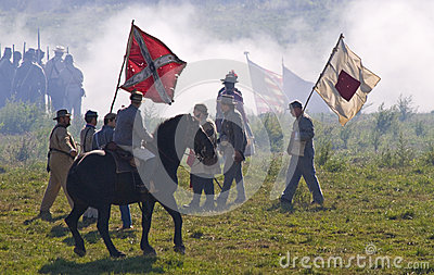 Antietam Reenactment September 15, 2012 Editorial Image