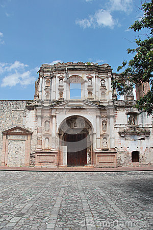 Free Antigua, Guatemala: Church Of Society Of Jesus (1626), Damaged By An Earthquake In 1773 Royalty Free Stock Photos - 45621418