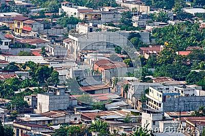 Antigua Guatemala city suburbs