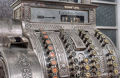 Antik kassaapparat