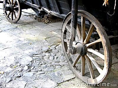 Antika vagnhjul