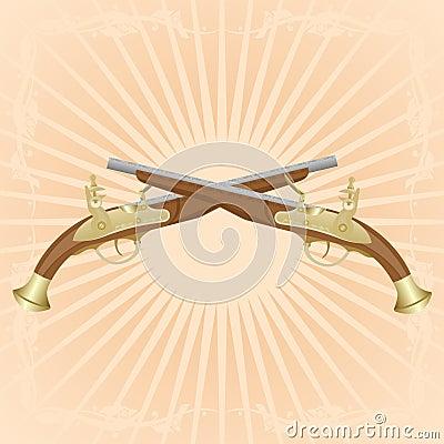 Antike Gewehre