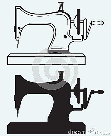antike n hmaschine lizenzfreies stockbild bild 32774686. Black Bedroom Furniture Sets. Home Design Ideas