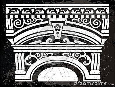 Antike Spalte