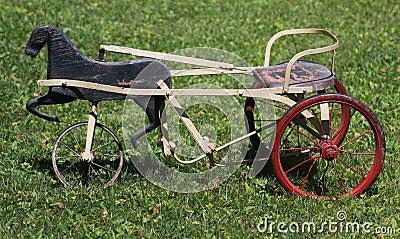 Antikes Dreirad