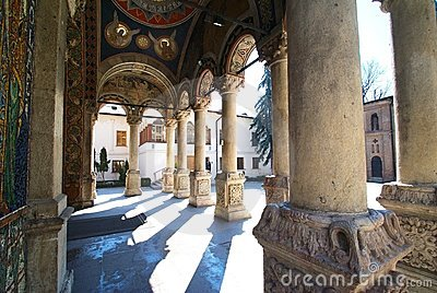 Antim Monastery from Bucharest Romania