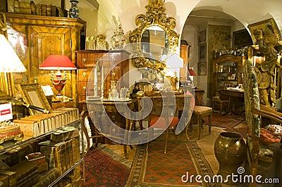 Antiquarian fashioned furnitures