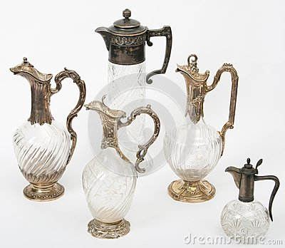 Antiquarian jugs