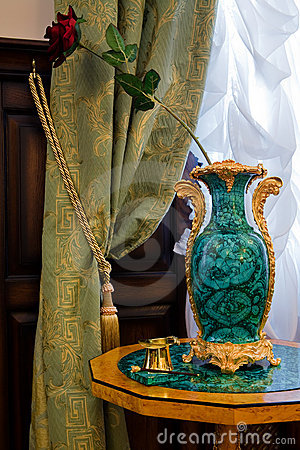 Free Antiquarian Vase At A Window Stock Photo - 6238980