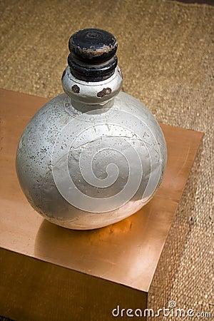 Antiquated perfume bottle