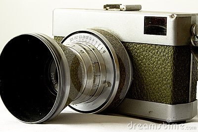 Antique 35mm camera