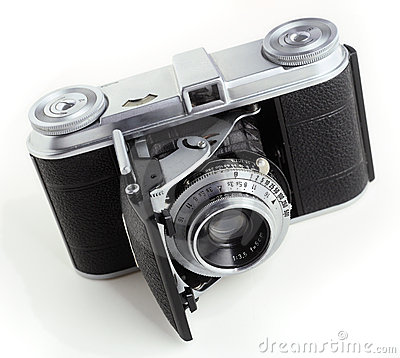 Antique 35mm film camera