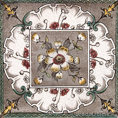 Free Antique Aesthetic Design Tile Royalty Free Stock Photography - 4022177