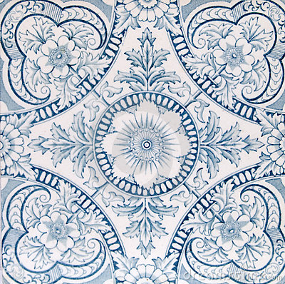 Antique Aesthetic design tile