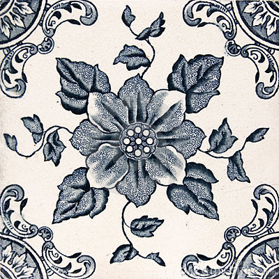 Antique Aesthetic design tile