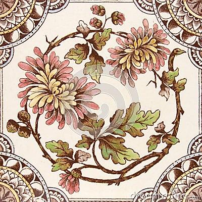 Antique Aesthetic period tile