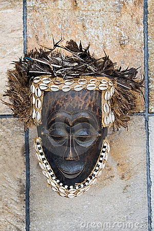Free Antique African Mask Royalty Free Stock Photo - 2114315