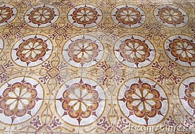 Art Nouveau Tile Pattern clip art - vector clip art online