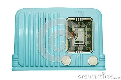 Antique Bakelite Tube Radio