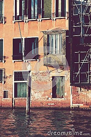 Antique balcony
