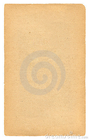 Antique blank paper page