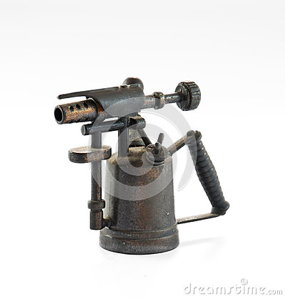 Free Antique Blowtorch Royalty Free Stock Photography - 29760367