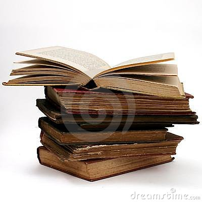 Free Antique Book Stack Royalty Free Stock Photography - 100627