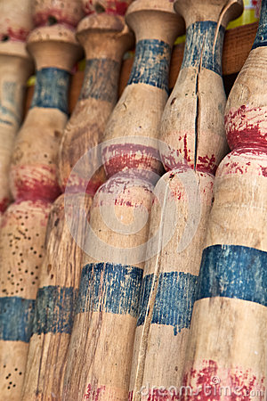 Antique Bowling Pins