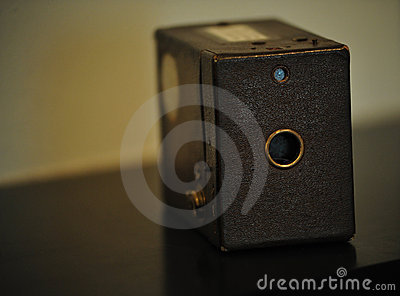 Antique Box Camera