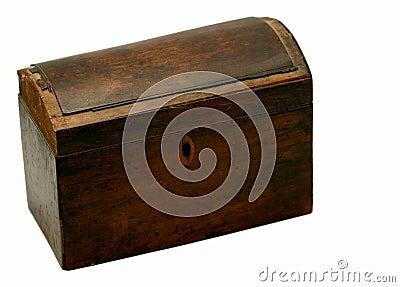 Antique box - closed