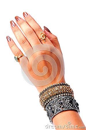 Free Antique Bracelet Royalty Free Stock Images - 10598459