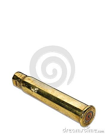 Antique bullet shell casing