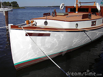 Antique Cabin Cruiser