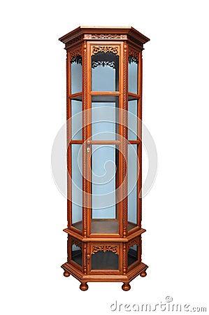 Antique cabinet.