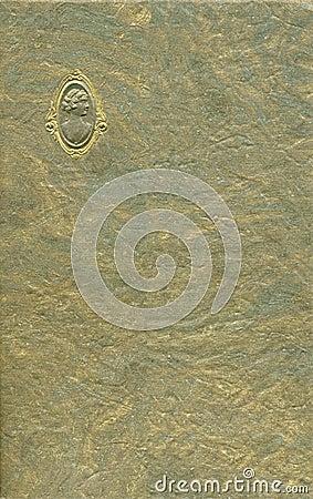 Antique cameo cover