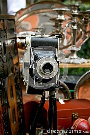 Free Antique Camera Royalty Free Stock Image - 2095876