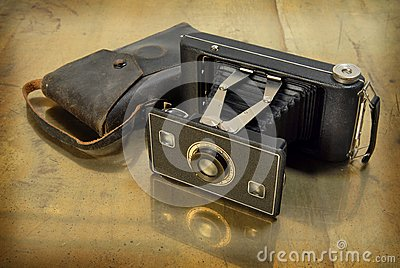 Antique camera.