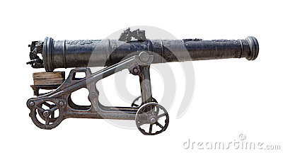Antique cannon
