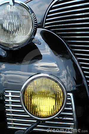Antique Car Headlights