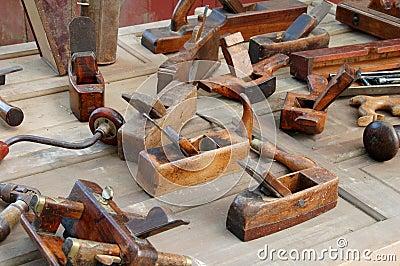 Antique Carpenter Tools