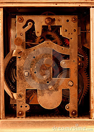 Antique Carriage Clock Movement