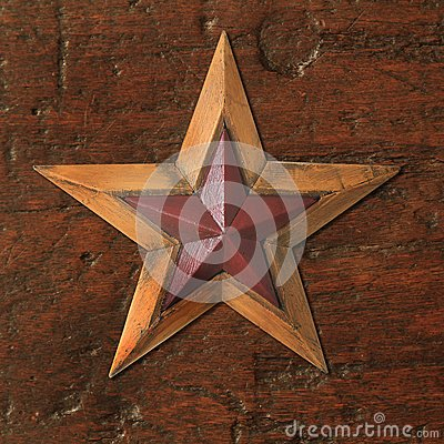 Antique Christmas star