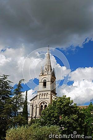 Antique church, France